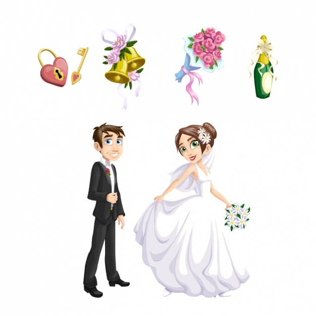 Bride Illustrations and Clip Art 34069 Bride royalty
