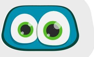 vector-robot-character eyes