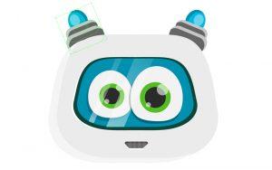 vector-robot-character reflect-antennae