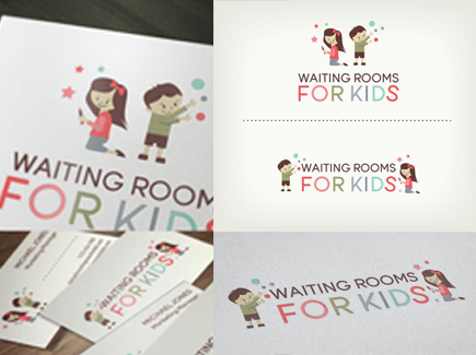 cartoon business card kids