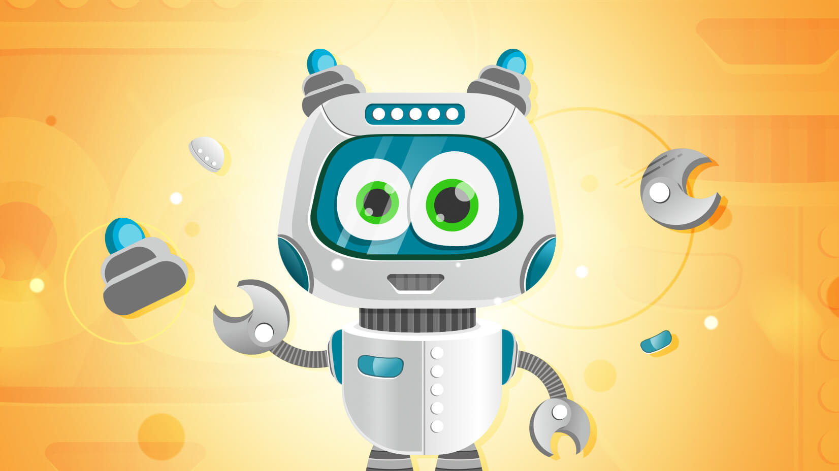 Simple Character Design Illustrator : Simple vector robot character in illustrator tutorial freebie