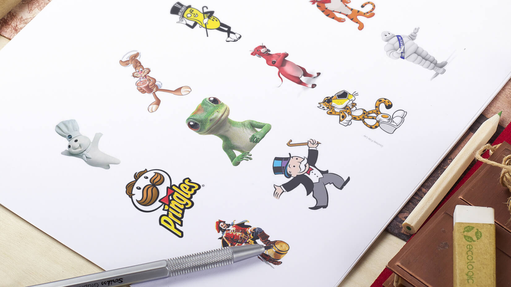 db7523cc9b6bb3 21 Most Famous Brand Mascot Designs of All Time