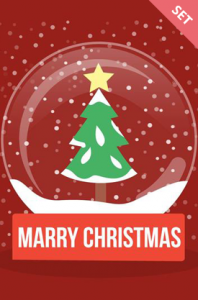 Merry Christmas Vector Elements