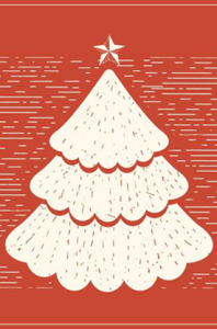 retro Christmas tree