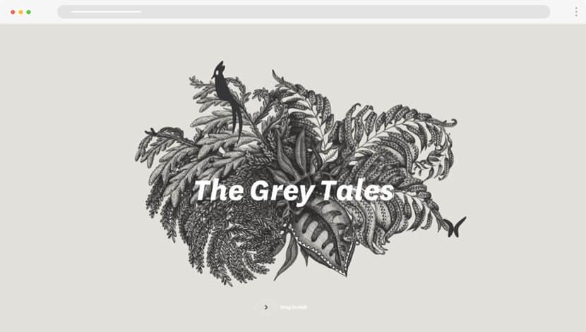 The Grey Tales art website