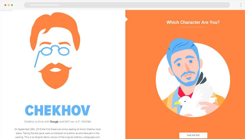 Chekhov is Alive Website