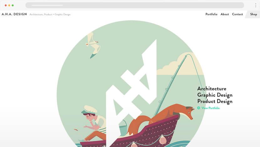 AHA website Design