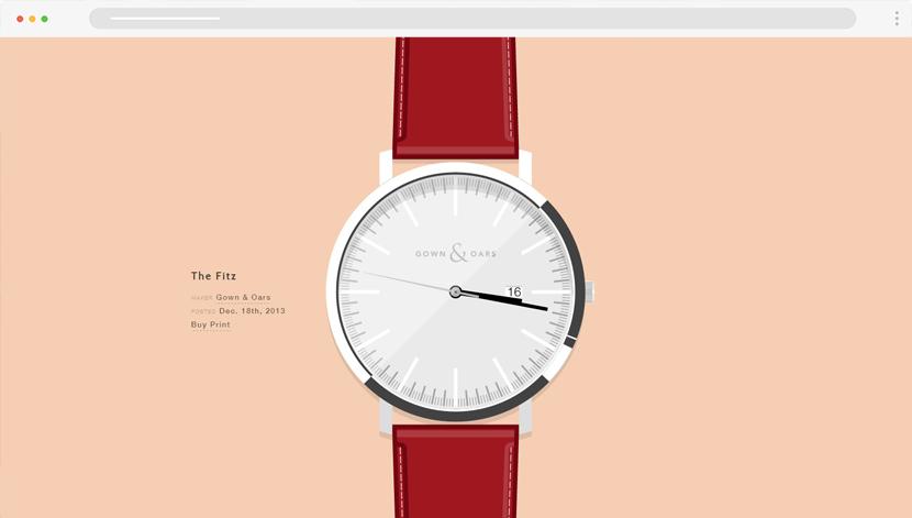 Wrist watches cartoon website