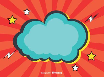 cloud-comic-style