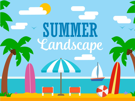 summer-landscape-flat-cartoon