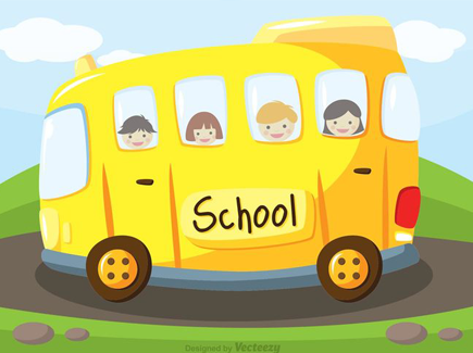 school-bus-vector-background