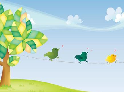 birds-singing-in-nature