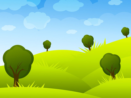 cartoon-landscape-vector