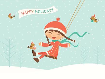 free-vector-happy-holidays-swinging-kid