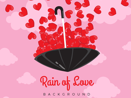 romantic-background-with-red-hearts-umbrella