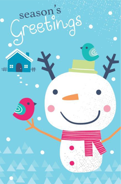 snowman-and-birds-christmas-card