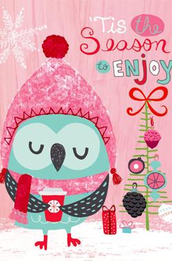 pink-christmas-card
