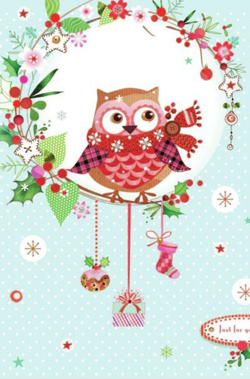 owl-christmas-card
