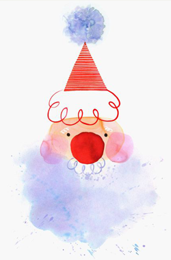 santa-claus-watercolor