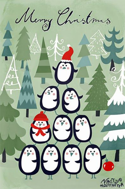 penguins-christmas-card