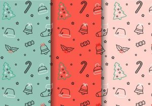 free-christmas-pattern-vector