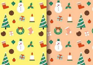 free-christmas-pattern-vector-1