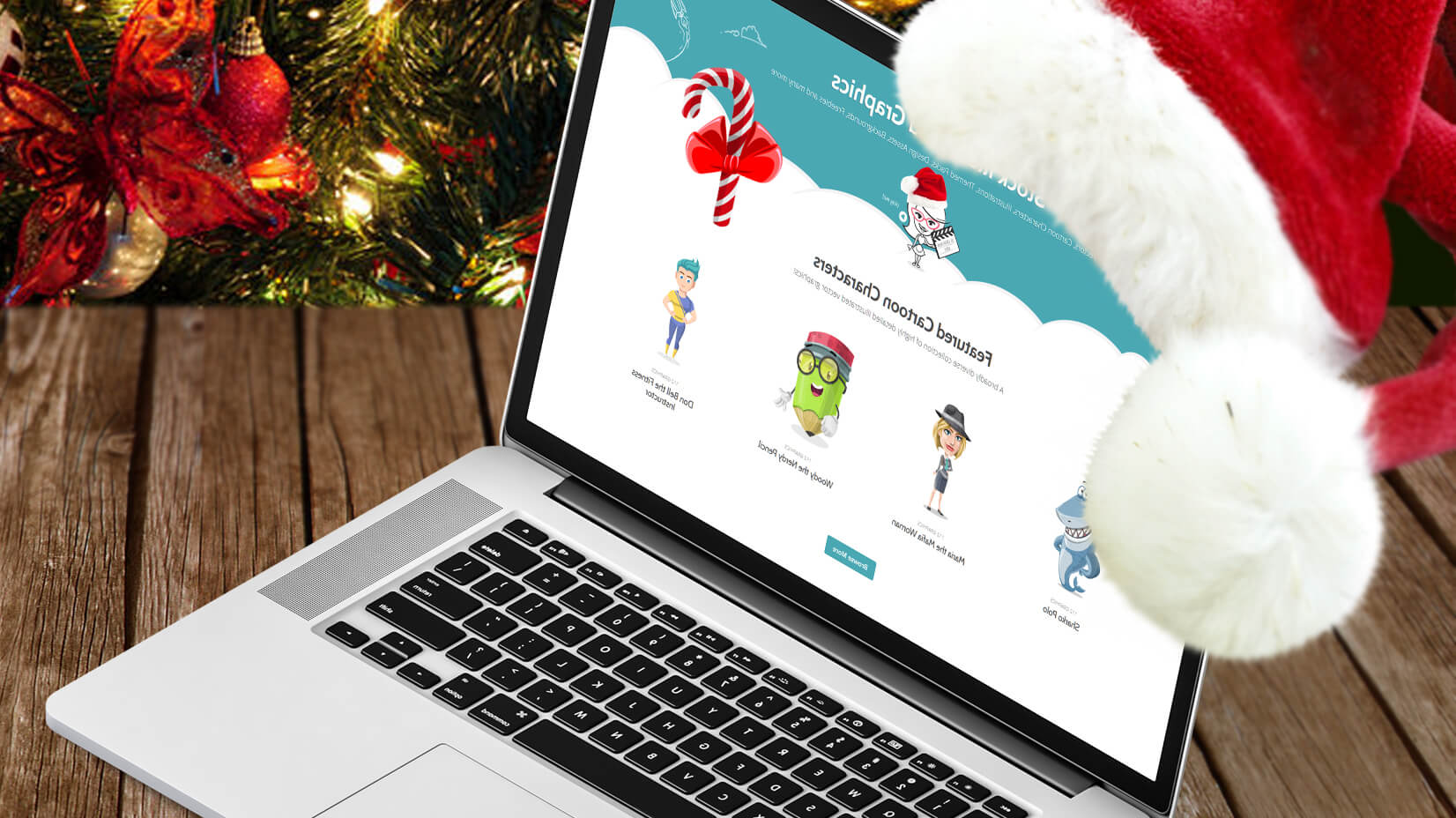 10 Last-Minute Ideas to Decorate Your Website for Christmas (+Freebies)