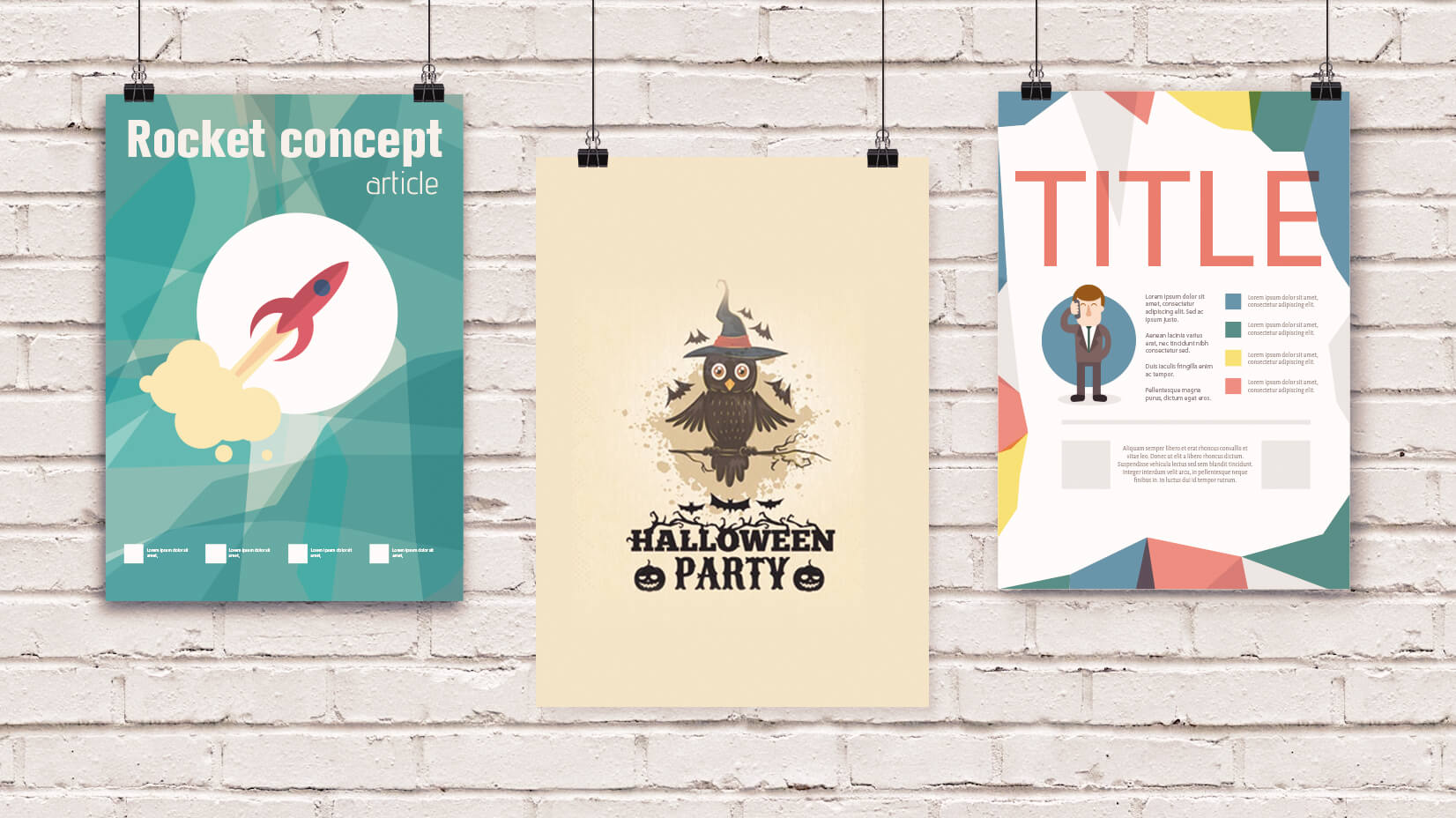20 Snackable Cartoon Flyer Templates That Can Be Grabbed For Free