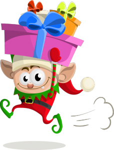elf decorate your website for christmas