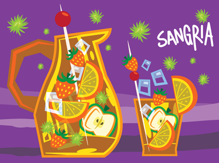 vector-sangria-retro-illustration