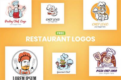 Free Restaurant Logo Templates by GraphicMama