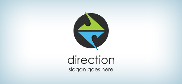 direction_logo-free-logo-design-templates