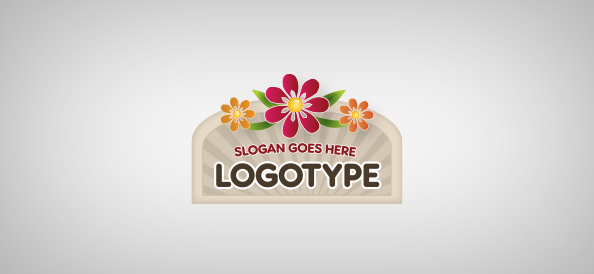 sign-with-flowers-free-logo-design-templates