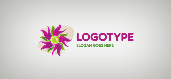 creative-flower-free-logo-design-templates