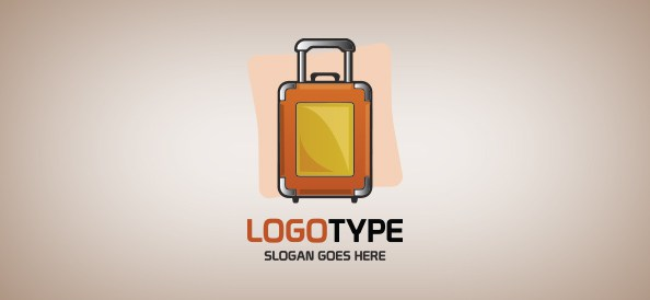 suitcase-free-logo-design-templates