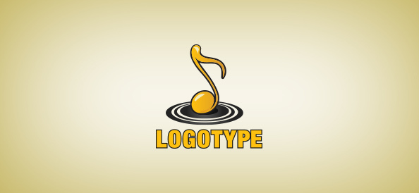 Golden_music_note_logo_template_small_preview