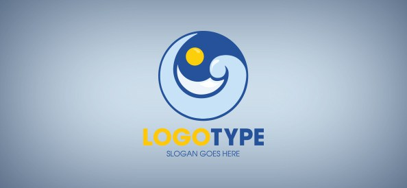wave-free-logo-design-templates