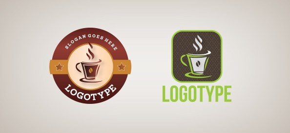 coffee cup logo template - photo #25