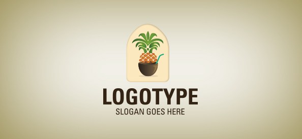 pineapple-free-logo-design-templates