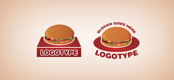 hamburger-free-logo-design-templates