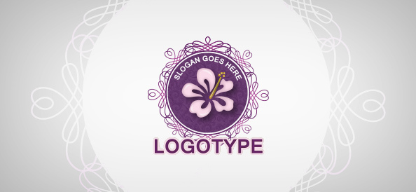 floral-beauty-free-logo-design-templates