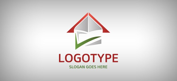 abstract-house-free-logo-design-templates