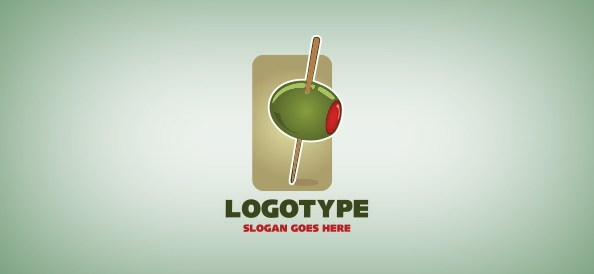 green-olive-free-logo-design-templates