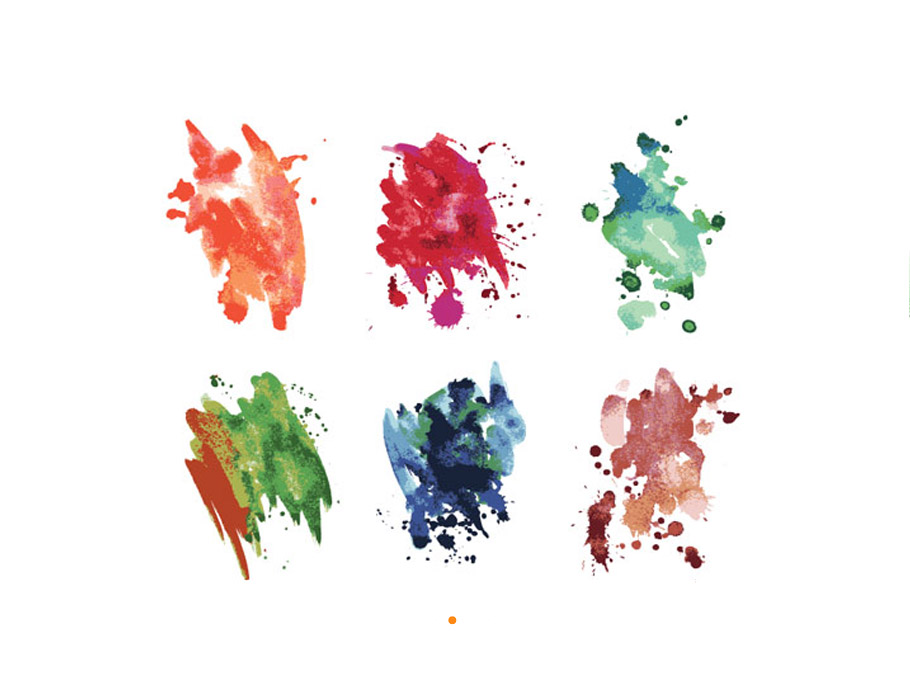 Free Watercolors: Backgrounds, Patterns, Objects, Logos