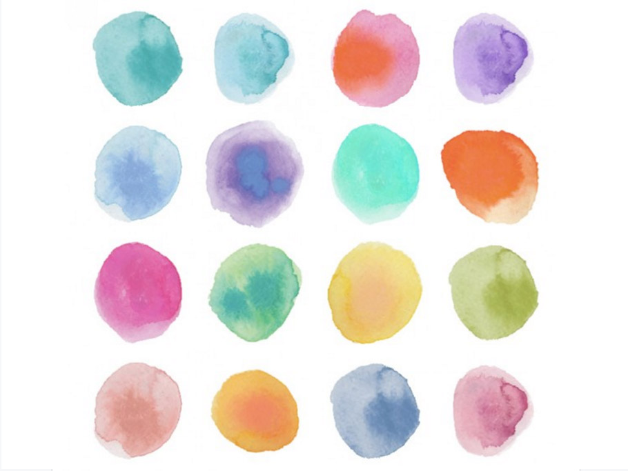 dots-free-watercolors