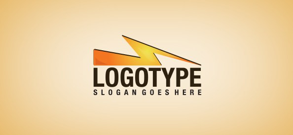 lightning-free-logo-design-templates
