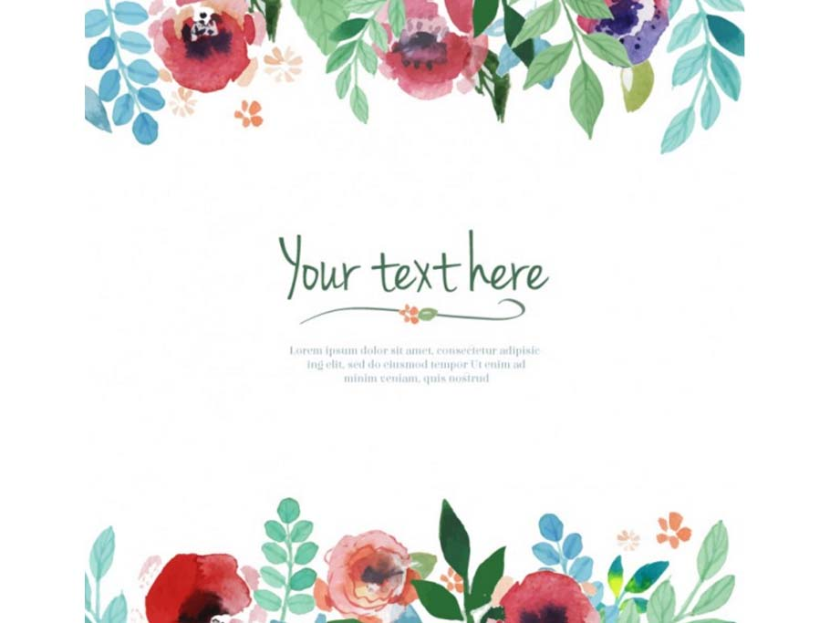 Free watercolors backgrounds patterns objects logos for Watercolor painting templates free