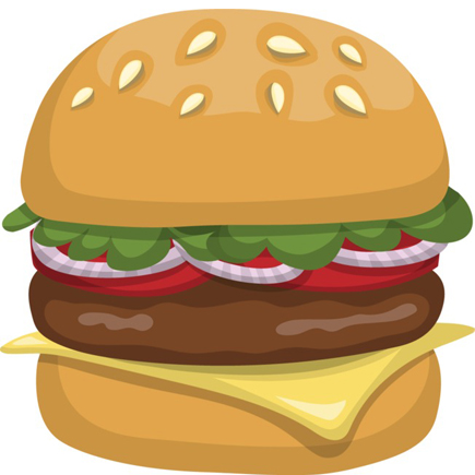 burger-vector-illustration