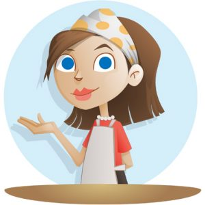 cute-housewife-vector-character