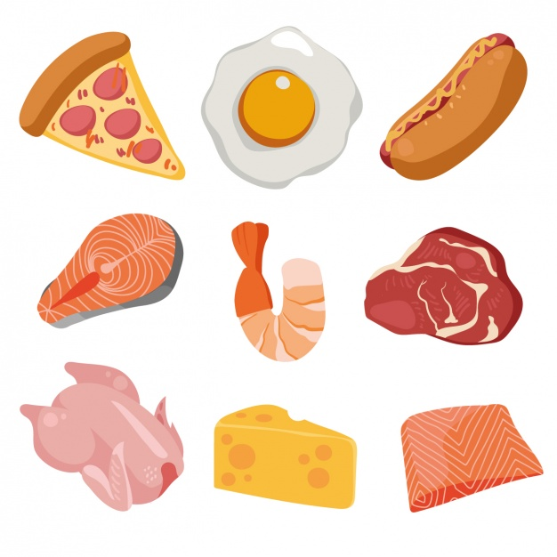 food-collection vector images